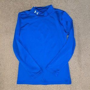 Under Armour Cold gear Boys long sleeve shirt EUC